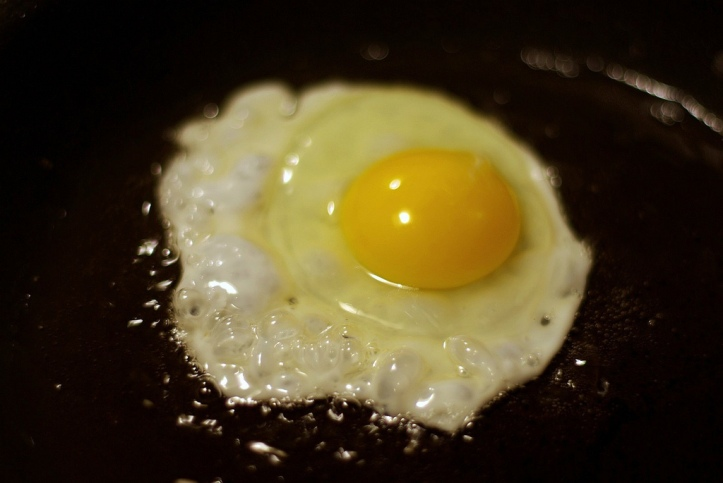 photo fried egg