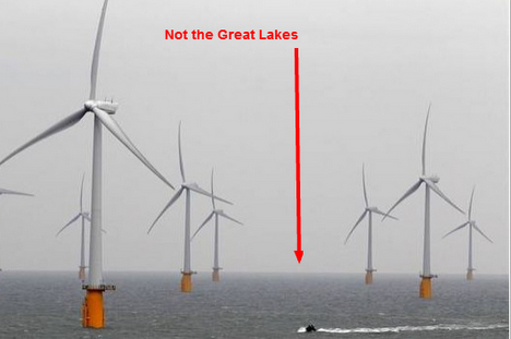 photo offshore wind thames england