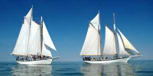 photo appledore schooners baysail bay city