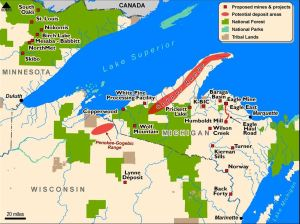 photo sulfide mining great lakes