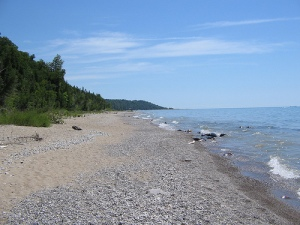 photo great lakes beach sand report