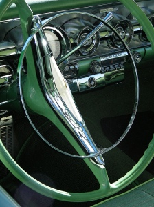 photo green dashboard car