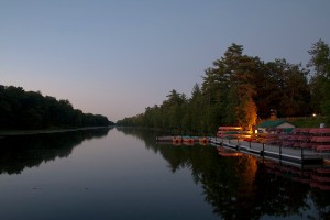 au sable river canoe water trails michigan