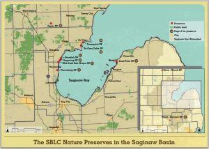saginaw basin land conservancy nature preserves