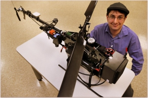 cmu helicopter wetlands hyperspectral camera great lakes