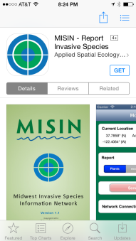 invasive species app msu