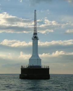 gravelly shoal lighthouse station light saginaw bay
