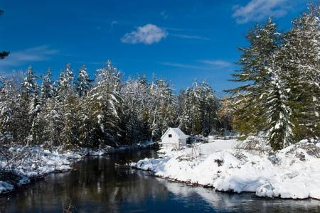 michigan winter river platte honor