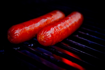 summer grill hot dogs parks flame
