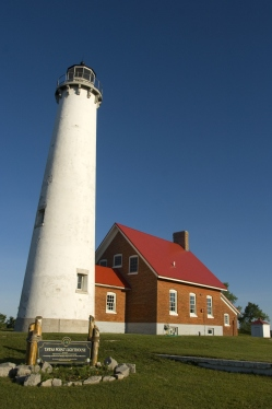 tawas point lighthouse keepers michigan dnr