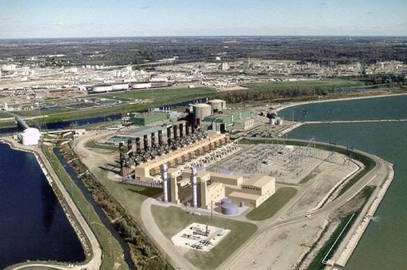 midland cogeneration venture plant expansion artist rendering
