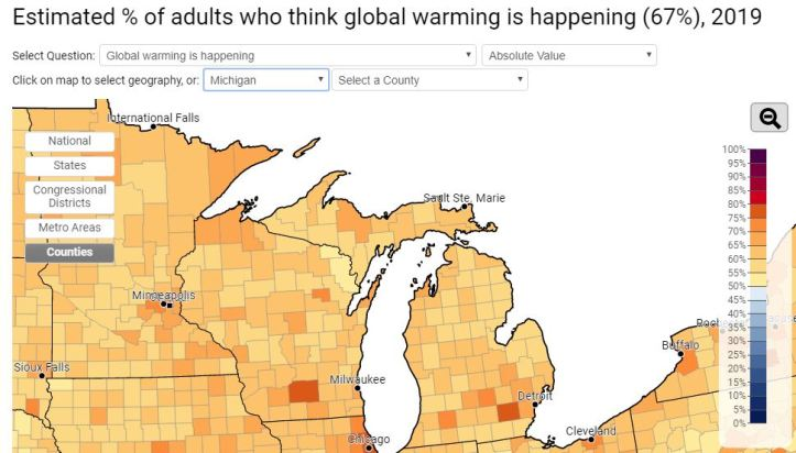yale climate change global warming opinion